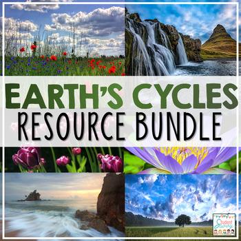 Earth's Cycles Activities Resource Bundle