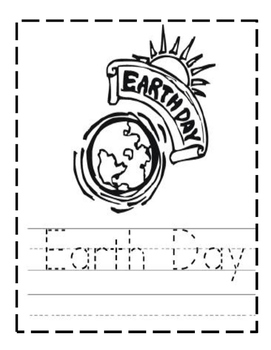 Earth's Day Handwriting Sheets