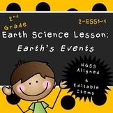 Earth's Events (Second Grade Lesson)