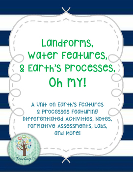 Earth's Features & Processes Unit