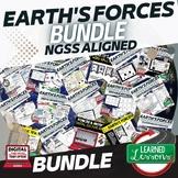 Earth's Forces Bundle (Earth Science BUNDLE)