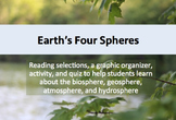 Earth's Four Spheres: Biosphere, Atmosphere, Hydrosphere, and Geosphere