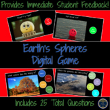 Earth's Four Spheres Digital Game - Distance Learning