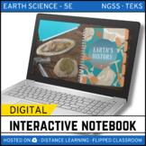 Earth's History DIGITAL NOTEBOOK - Google Classroom / Dist