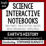 Earth's History Interactive Notebook Unit