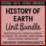 Earth's History Unit Bundle