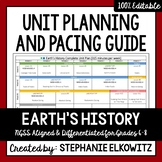 Earth's History Unit Planning Guide