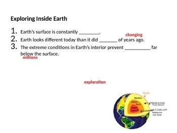 Earth's Interior & Convection