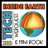 Earth's Layers  Interactive Notebook Webquest and Presentation