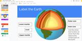 Earth's Interior - Interactive Powerpoint/Google Slide Pre
