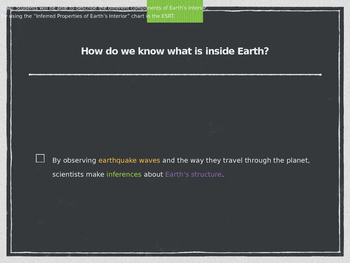 Earth's Interior Notes