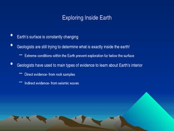 Earth's Interior PPT