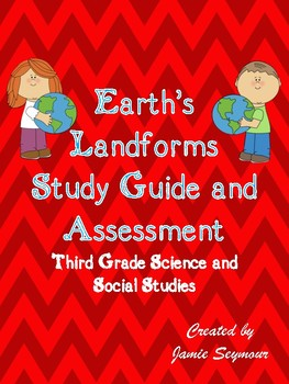 Earth's Landforms Study Guide and Assessment