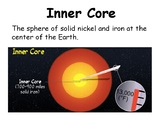 Earth's Layers, Minerals, Rocks, and Tectonic Plates Vocabulary Mini Posters