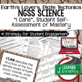 Earth's Layers & Plate Tectonics Self Assessment of Master