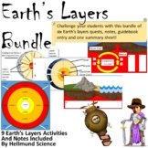Earth's Layers Quest and Notes Bundle