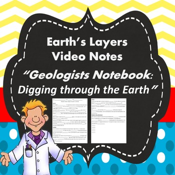 Earth's Layers Video Notes