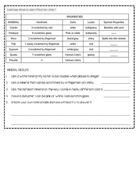 Earth's Materials and Processes Notebooking Set {Aligned to SC standards}