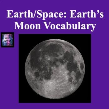 Earth's Moon Vocabulary