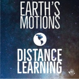 Earth's Motions:  Distance Learning for Middle School