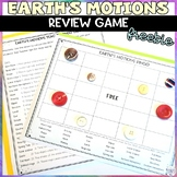 Earth's Motions Review Activity FREE