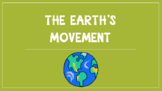 Earth's Movement PowerPoint lesson