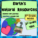 Earth's Natural Resources Complete Lesson Set Bundle (NGSS