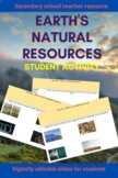 Earth's Natural Resources - Renewable and non renewable resources