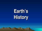 Earth's Nistory Notes