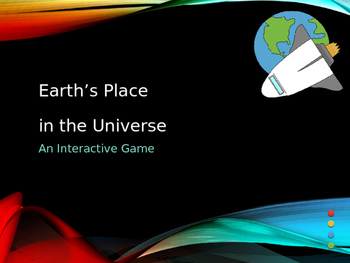 Earth's Place in the Universe Interactive Game