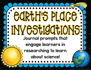 Earth's Place in the Universe Investigations Journal Prompts
