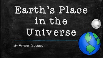 Earth's Place in the Universe Presentation