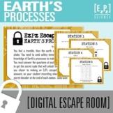 Earth's Processes Science Escape Room