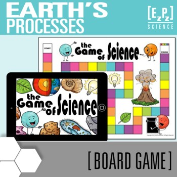 Earth's Processes Science Board Game Review