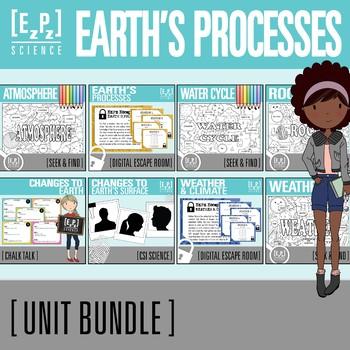 Earth's Processes Unit Bundle