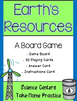 Earth's Resources Board Game