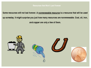 Earth's Resources, Lesson 2