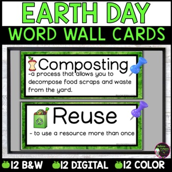 Earth's Resources Vocabulary- with definitions