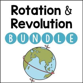 Earth's Rotation and Revolution BUNDLE