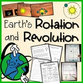 Earth's Rotation and Revolution Pack Printables, PowerPoint - Distance Learning