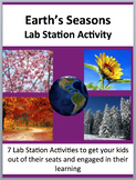 Earth's Seasons - 7 Engaging Lab Stations