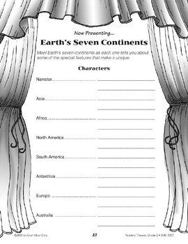 Earth's Seven Continents