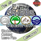 Earth's Spheres (Biosphere, Hydro, Atmo, Geo) Walkabout Activity
