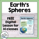 Earth's Spheres Digital Lesson and Activity for Distance Learning