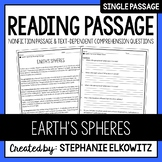 Earth's Spheres Reading Passage
