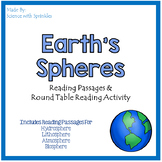 Earth's Spheres Reading Passages and Activity