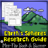 Earth's Spheres Research Flip Book