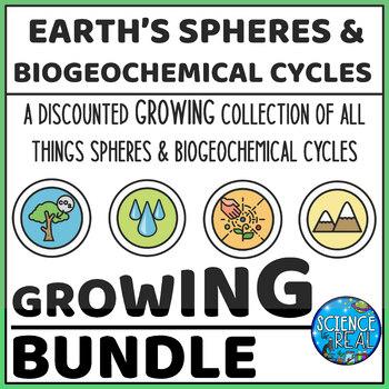 Earth's Spheres and Biogeochemical Cycles BUNDLE!