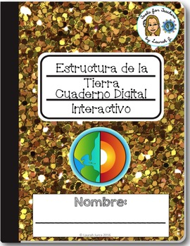 Earth's Structure Interactive Digital Notebook for Google ® {Bilingual}
