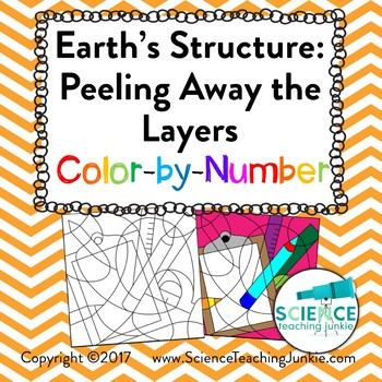 Earth's Structure: Peeling Away the Layers Color-by-Number
